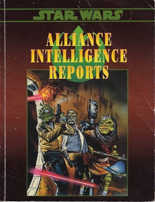 Star Wars D6 - Alliance Intelligence Reports (Genbrug)